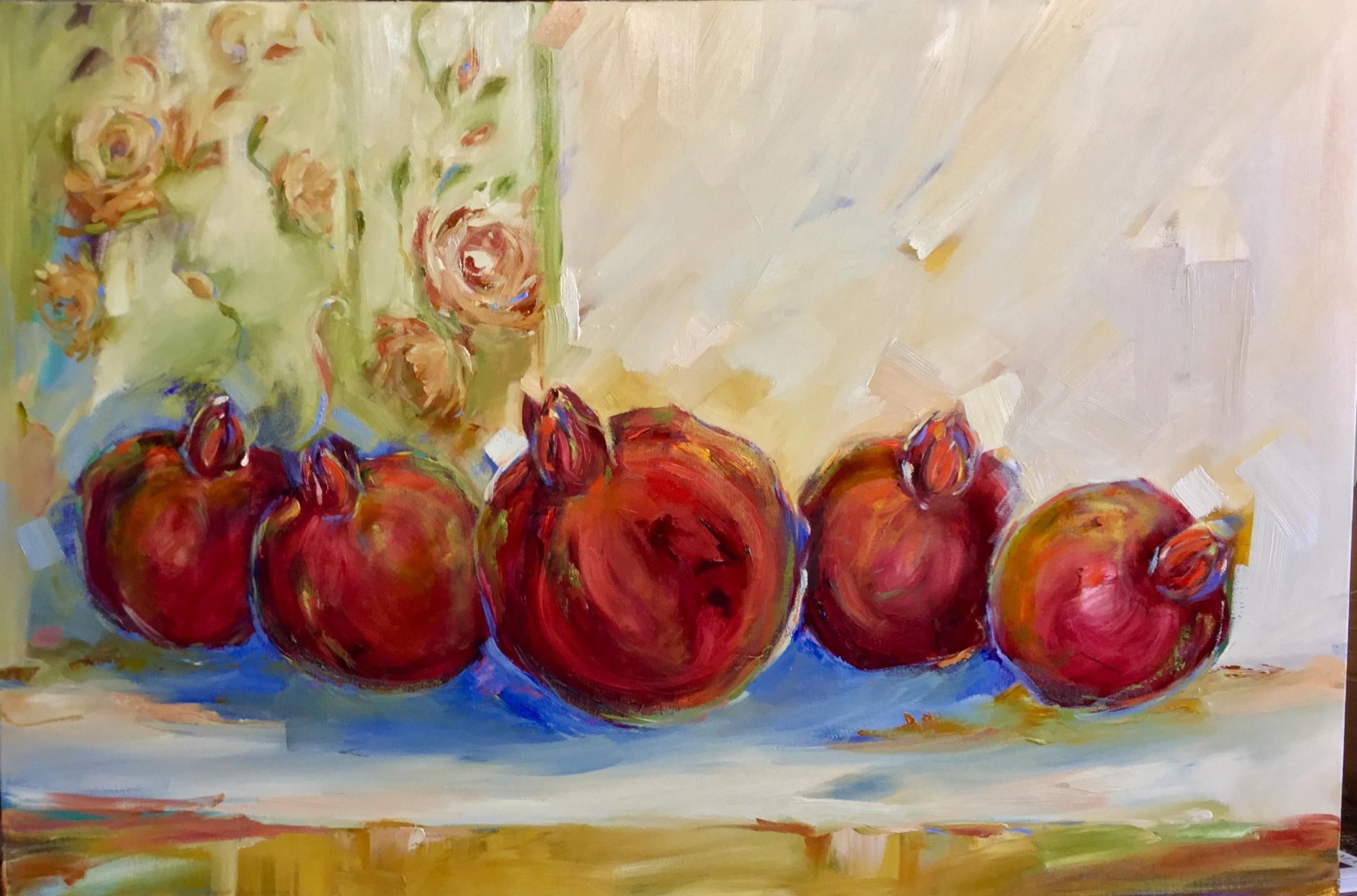 100x150cm Pomegranates