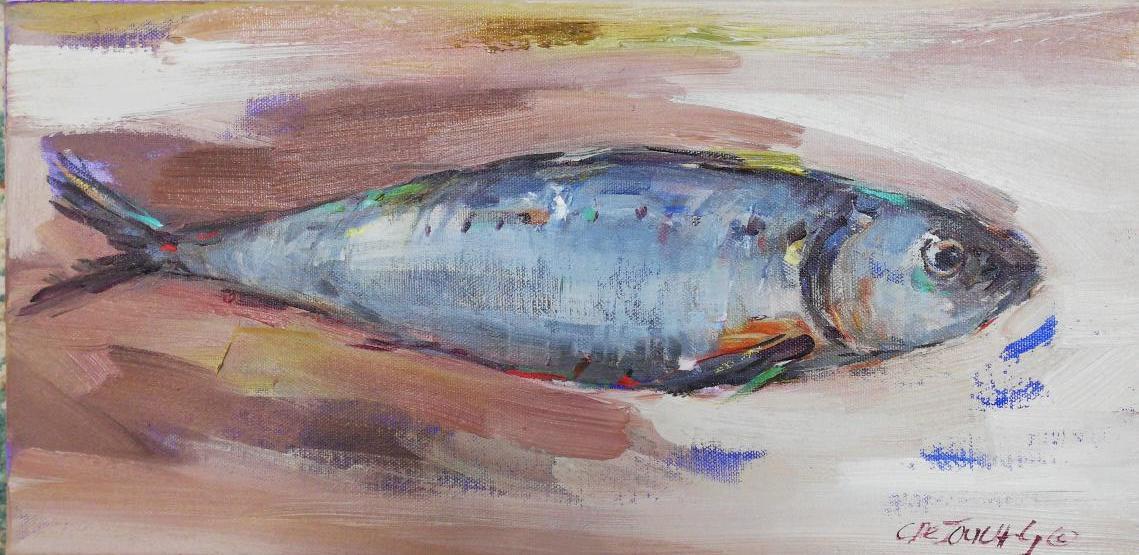 25x50cm Fish